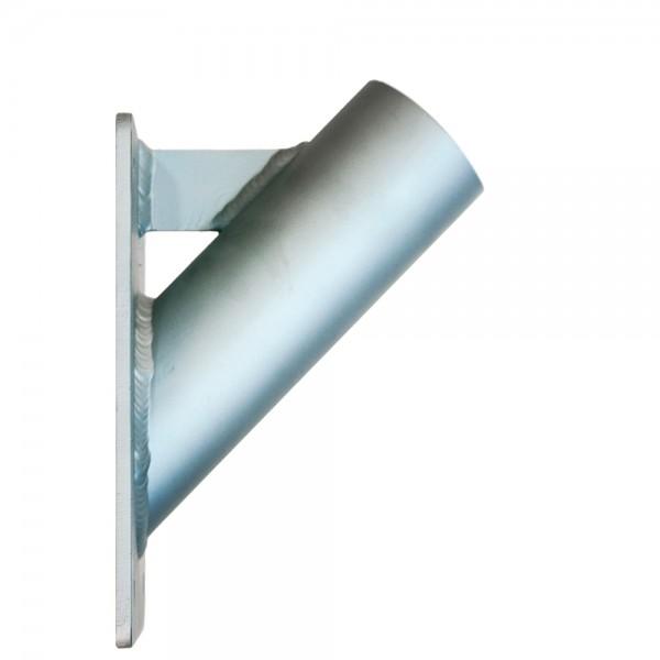 Schrägwandhalter 45° - Masten Ø 60 mm